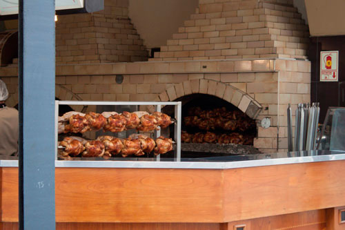 local de venta de pollo a la brasa en Lima