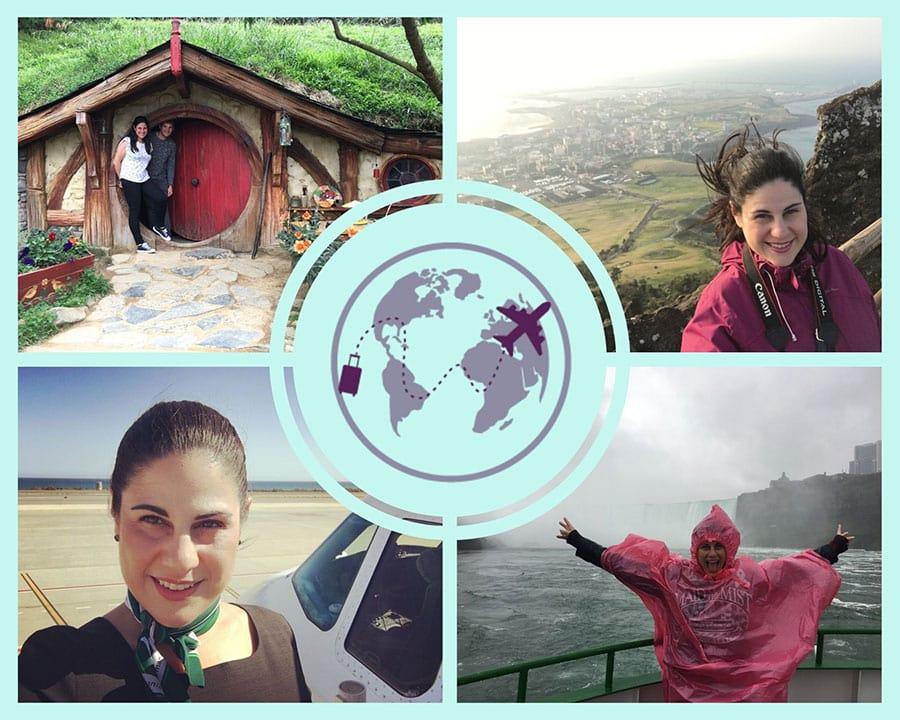 Collage de fotos de nuestros viajes