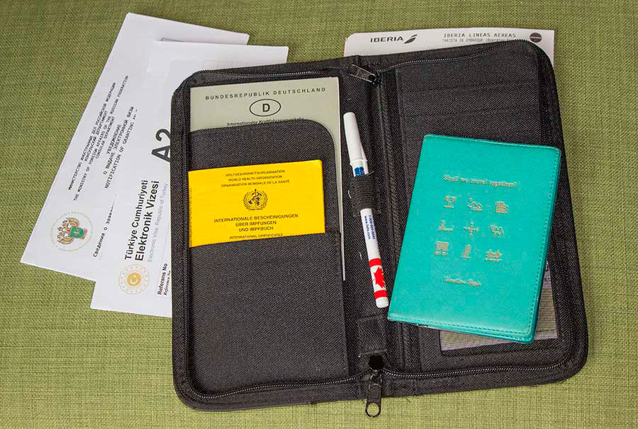 Cartera para llevar tus documentos importantes
