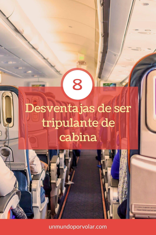 8 desventajas de ser tripulante de cabina