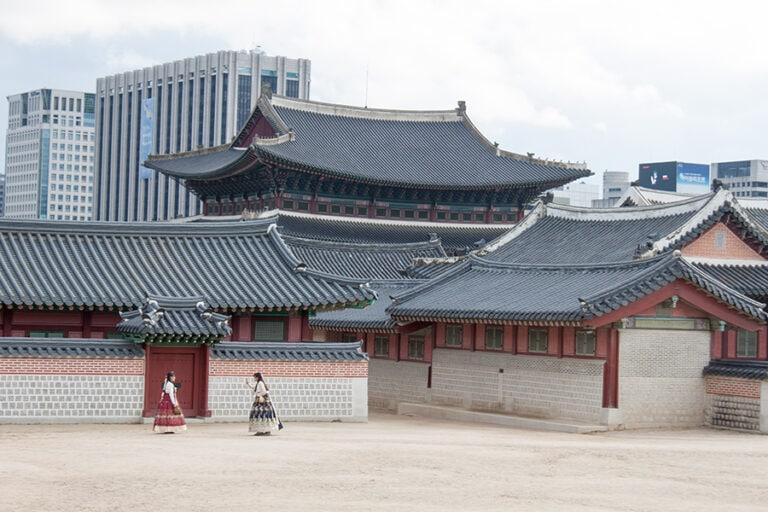 Foto del palacio Gyeongbokgung, qué ver en la ciudad de Seúl