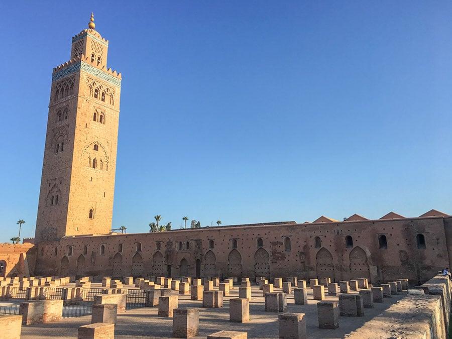 Mezquita Kutubia en Marrakech