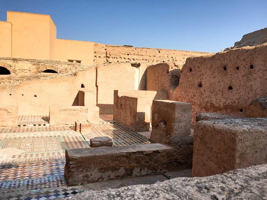 Ruinas del palacio El Badii