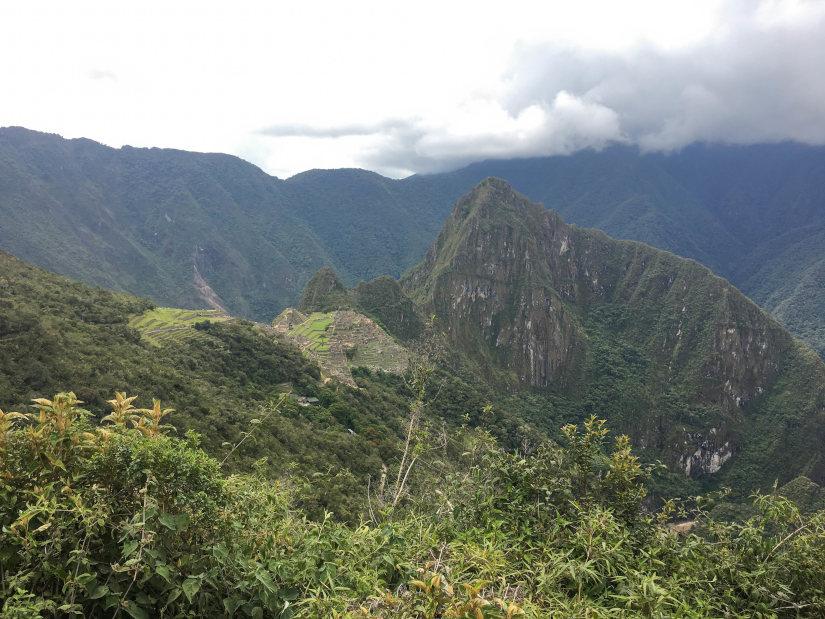 Foto de las vistas de Machu Picchu tras subir a Intipunku