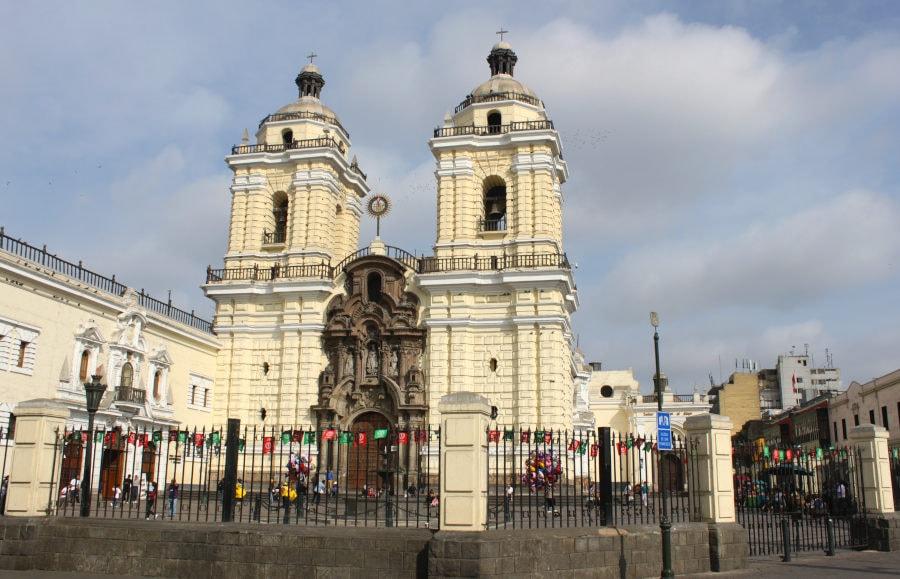 foto del monasterio de San Francisco en Lima
