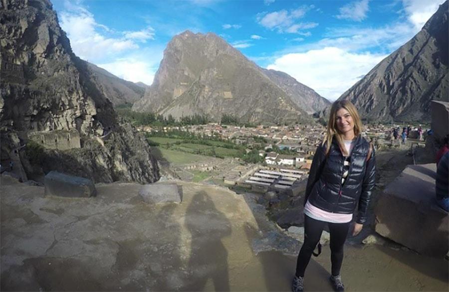 foto del valle sagrado de los incas en Perú