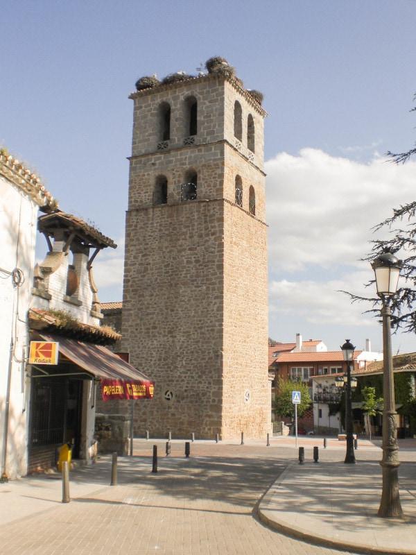 foto de la torre de la Iglesia de Nuestra Señora de las Nieves