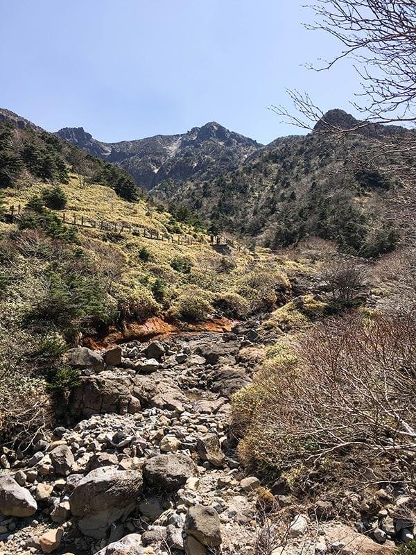 Subida a Hallasan por la ruta de Gwaneumsa